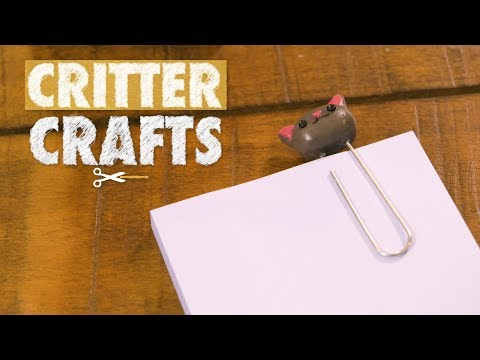 Critter Crafts | Clay Office Set