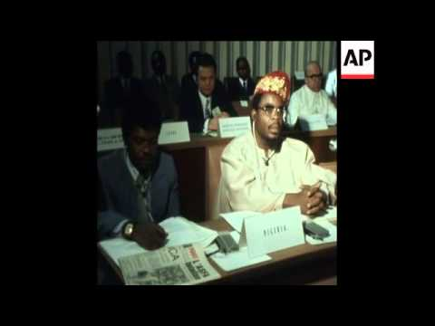 LIB 23-1-74 EAST AFRICA SCIENTIFIC AND TECHNOLOGICAL CONFERENCE IN DAKAR, SENEGAL