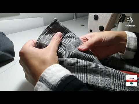 How to replace a trouser zipper pants zipper