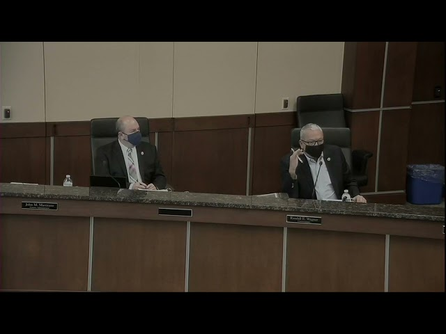 Washington County Board of Commissioner's Meeting 3/30/21