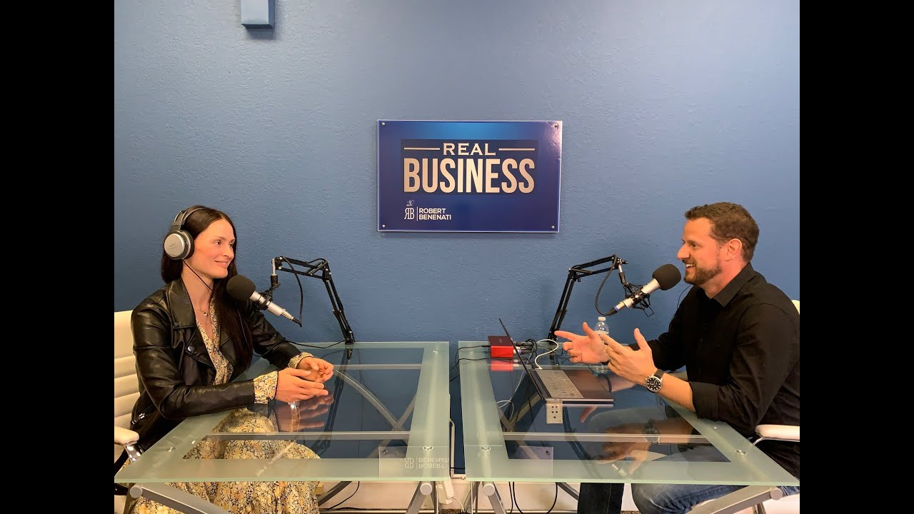 Mila Szott. From Staging Her Life To Home Staging Business I Real Business Podcast I
