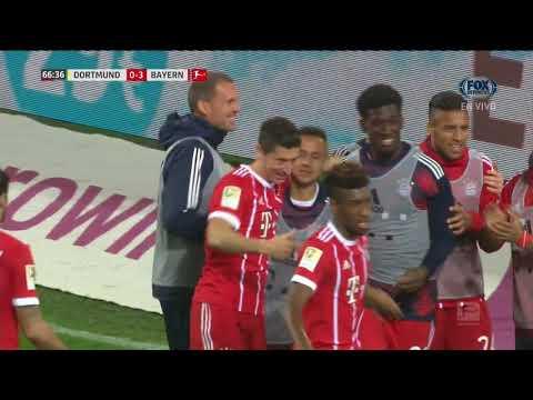 GOL: Borussia Dortmund 0 - 3 Bayern Munich