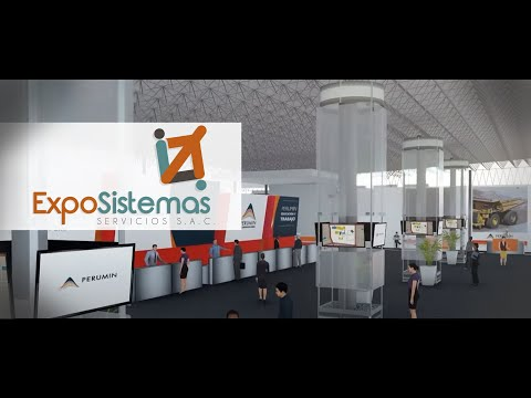 VIRTUAL TOUR PERUMIN 33 MINING CONVENTION:3D ANIMATION MINERÍA E INGENIERÍA AREQUIPA RECORRE UNSA 3D