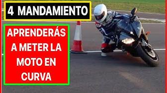 Imagen del video: 4º mandamiento del motero: Meter la moto en curva, con Chicho Lorenzo