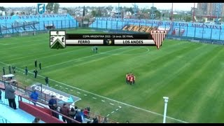 Ferro vs Los Andes full match