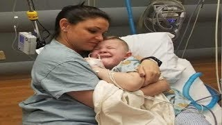5-Year-Old Wakes from Surgery with No One by His Side, Nurse Approaches and Holds Him Tight