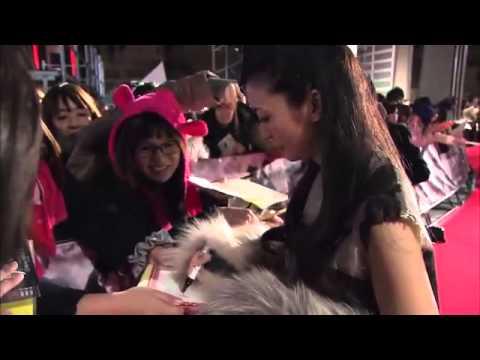 47 Ronin Japanese Premiere Red Carpet B ROLL 2013   Keanu  1