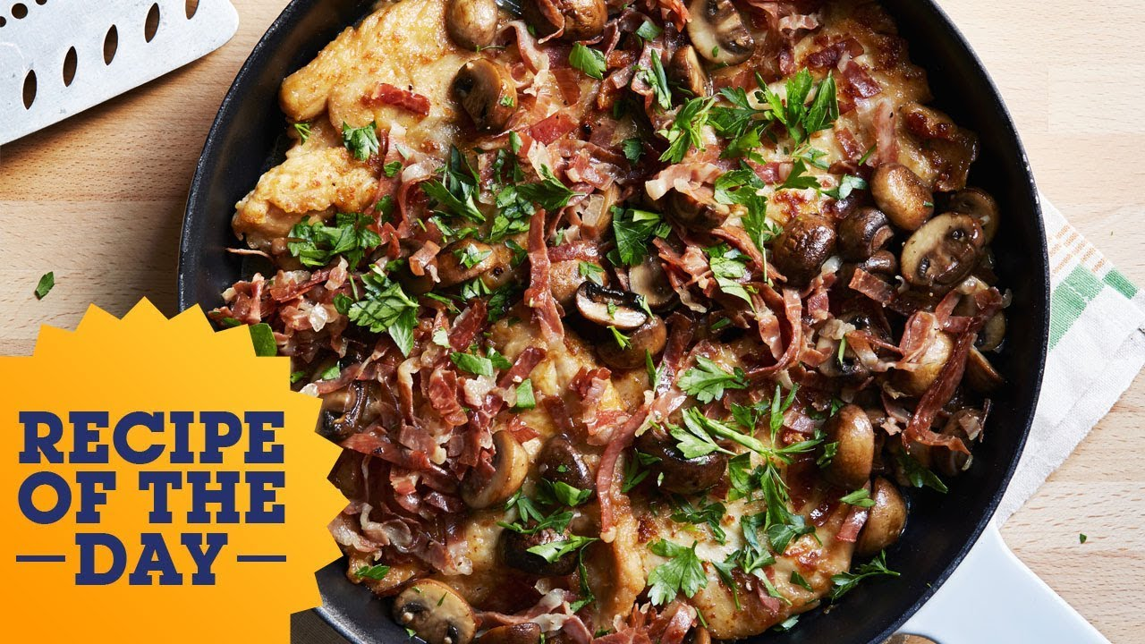 Recipe Of The Day Tyler S 5 Star Chicken Marsala Food Network Youtube