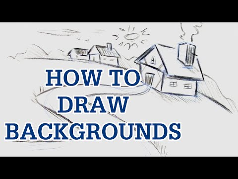 Learn To Draw Cartoon Background