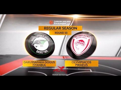 Highlights: Darussafaka Dogus Istanbul-Olympiacos Piraeus