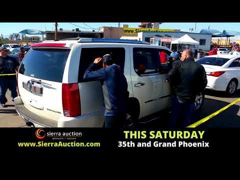 Sierra Auction Phoenix  Saturday