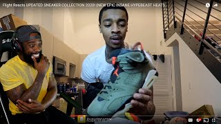 FLIGHT'S SNEAKER COLLECTION GOT ME JEALOUS! HE GOT HEAT! (NEW EPIC INSANE HYPEBEAST HEAT!)