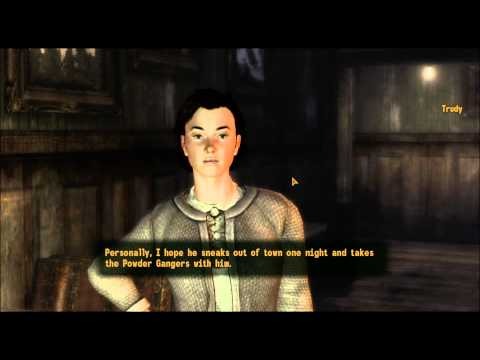 Fallout New Vegas Ghost Town Gunfight part 1 of 4 Trudy and Joe Cobb