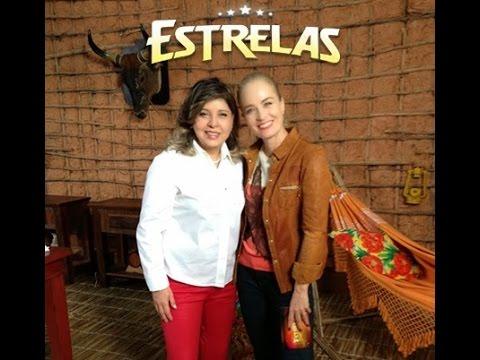 Roberta Miranda no Programa Estrelas com Angélica - 02/11/2013