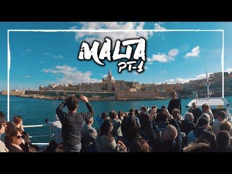 Prime impressioni su MALTA (Weekend fai da te a Malta PT.1/3) ✈ Vlog