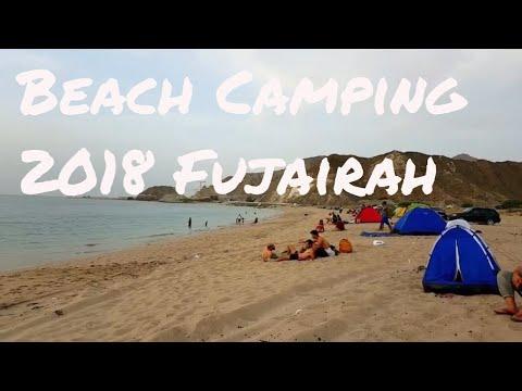 Extreme Camping in DUBAI !!! Fujairah snoopy island