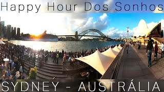 Pedalando na Ponte de Sydney, Chinatown e Chopp na Opera House