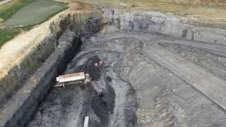 UAV and Scanning Coal Mine Highwall