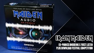 Maiden Audio Ed-Ph0n3s unboxing with Andy Copping