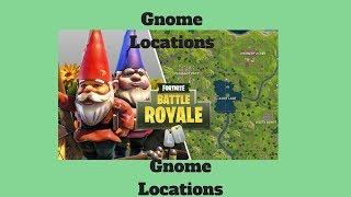 "Fortnite Hidden Gnome Location "" Pleasant Park "" ( season 3 )"