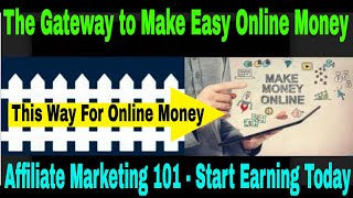 One question that everyone is asking? how to make money online and what the best way online? in this video, we talk about gateway mak...