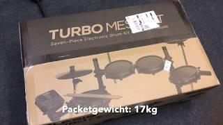 Alesis Turbo Mesh Kit ausgepackt und angetestet.