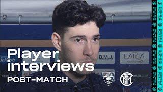 LECCE 1-1 INTER | BASTONI + DE VRIJ EXCLUSIVE INTERVIEWS [SUB ENG]