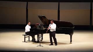 Duo Made in Brazil - III. BRAHMS Clarinet Sonata No  2, Op. 120