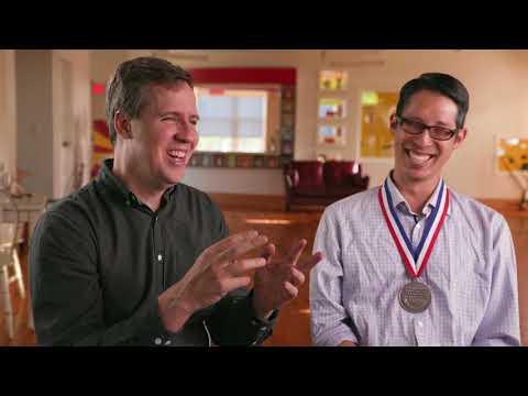 The Wimpy Kid (Jeff Kinney) Meets the National Ambassador (Gene Yang)