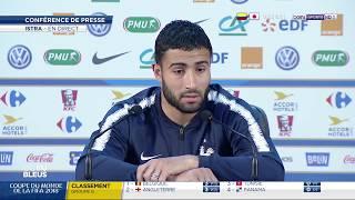 La conférence de presse de Varane et Fekir à deux jours de France-Pérou