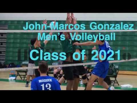 John-Marcos Gonzalez- Men's Volleyball- Class of 2021 (season plays)