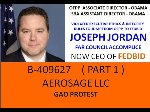 PART 1   B 409627    FEDBID VIOLATION OF FAR PART 7 AND INHERENT GOVERNMENTAL FUNCTION VIOLATIONS
