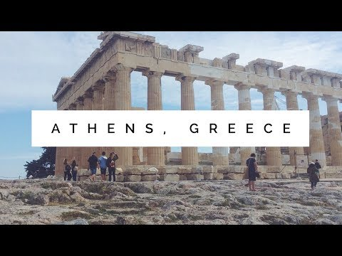 TRAVEL MONTAGE - Athens, Greece 2017