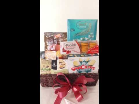 Gift baskets Gift Hampers - Cheeses crackers chocolates