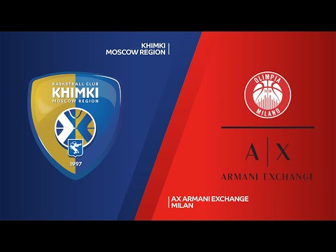 Khimki Moscow Region - AX Armani Exchange Milan Highlights | Turkish Airlines EuroLeague RS Round 8
