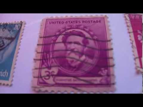 Tyler, Reich, Augustus,Lowell & More Postal Stamps