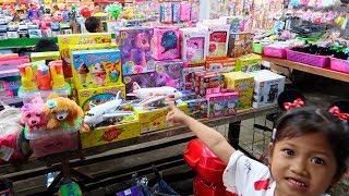 Main di Pasar Malam⭐ Banyak Mainan Anak_Tabungan ATM, Boneka. Naik Odong odong | Expo Tarakan 2017