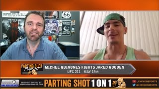 """UFC 211's Michel Quinones """"I want to impress Dana White by taking out Jared Gordon"""""""