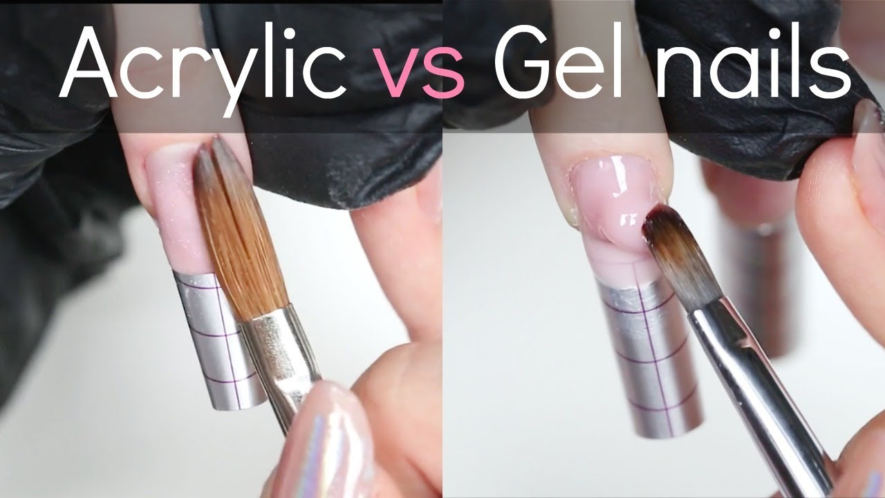 Acrylic vs Gel Nails | Which is better? - YouTube