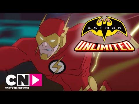 Batman Unlimited | Loppet har startat! Batman och Flash Vs Cheetah | Svenska Cartoon Network