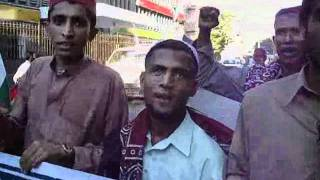 Aafia - Sindh cultural day Cap and Ajrak day withi song Sindh jiye Sindh wara jiyen.wmv