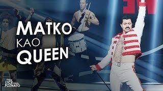 Matko Knešaurek Kao Queen We Will Rock You