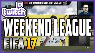 FIFA 17 Weekend League Spiele - TWITCH LIVESTREAM #01