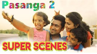 Pasanga 2 - Best Scenes | Tamil Movie | Suriya | Amala Paul | Bindu Madhavi