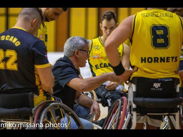 Hornets le Cannet VS Lannion 26 09 2020 Basket fauteuil