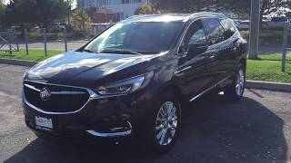 2018 Buick Enclave All New Apple Car Play 7 Passenger Black Oshawa ON Stock # 180283