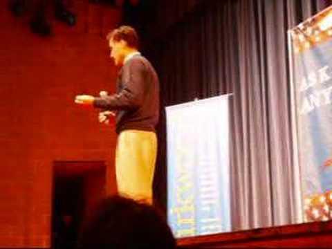 Mitt Romney at Kirkwood College in Cedar Rapids