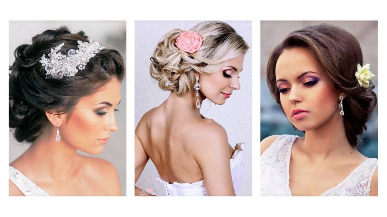 Hochzeitsfrisuren Mittellanges Haar Lovely Brautfrisur Halboffen