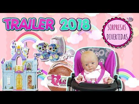 Canal de juguetes Sorpresas Divertidas Trailer 2018 - 동영상