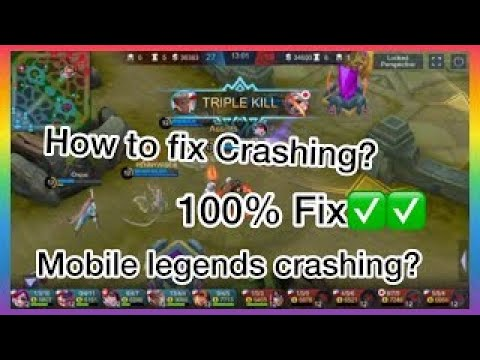 How To Fix Mobile Legends Crashes With This APP!!?(iPhone6)